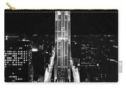Rca Building At Night In Nyc Carry-all Pouch