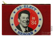 Re-elect Reagan Carry-all Pouch by Paul Ward
