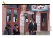 Re-enactors Bird Cage Theater Rendezvous Of The Gunfighters Tombstone Arizona 2004            Carry-all Pouch