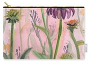 Reaching Flowers Carry-all Pouch