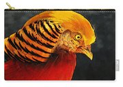 Read And Yello Bird Carry-all Pouch