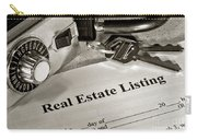 Real Estate Listing And Lock Box Carry-all Pouch