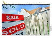 Real Estate Sold Sign Carry-all Pouch