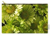 Real Green Flowers Carry-all Pouch