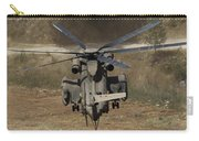 Rear View Of An Israeli Air Force Ch-53 Carry-all Pouch