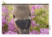 Rear View Of Female Bullfinch Standing Carry-all Pouch