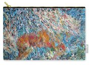 Rearing Stallion - Oil Portrait Carry-all Pouch