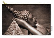 Reclining Buddha Carry-all Pouch by Adrian Evans