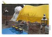Reclining Buddha Monument Carry-all Pouch