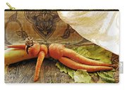 Reclining Nude Carrot Carry-all Pouch