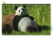Reclining Panda Carry-all Pouch