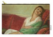 Reclining With Book Carry-all Pouch