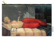 Reclining Woman Carry-all Pouch