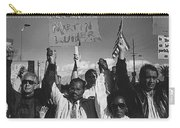 Recognize Martin Luther King Day Rally Tucson Arizona 1991 Black And White Carry-all Pouch