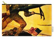Recruiting Poster - Ww1 - Marines Over The Top Carry-all Pouch