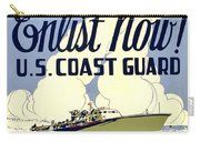 Recruiting Poster - Ww2 - Coast Guard Carry-all Pouch