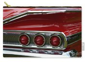 Red 1960 Chevy Tail Light Carry-all Pouch