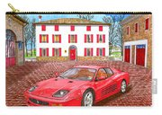 Enzo Ferrari S Garage With 1995 Ferrari 512m Carry-all Pouch