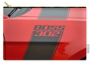Red 302 Boss Mustang Carry-all Pouch