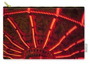 Red Abstract Carnival Lights Carry-all Pouch