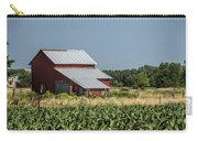 Red Amish Barn And Corn Fields Carry-all Pouch