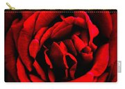 Red And Black Layers Carry-all Pouch