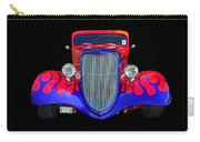 Red And Blue Custom Carry-all Pouch