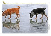 Red And Blue Heelers Carry-all Pouch