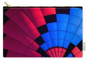 Red And Blue Pattern Carry-all Pouch