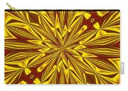 Red And Gold Christmas Kaleidescope Carry-all Pouch
