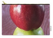 Red And Green Apples Carry-all Pouch