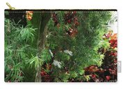 Red And Green Foliage Carry-all Pouch