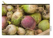 Red And Green Radishes Carry-all Pouch