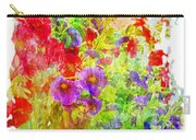 Red And Purple Calibrachoa - Digital Paint II Carry-all Pouch