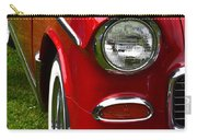 Red And White 50's Chevy Carry-all Pouch