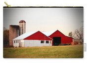 Red And White Barn Carry-all Pouch
