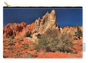 Red And White Desert Towers Carry-all Pouch