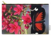 Red And White Longwing Butterflies  Carry-all Pouch