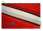 Red And White Ranchero Carry-all Pouch