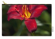 Red And Yellow Daylily  Carry-all Pouch