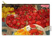 Red And Yellow Peppers Carry-all Pouch