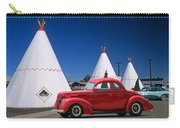 Red Antique Car Carry-all Pouch