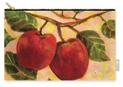 Red Apples On A Branch Carry-all Pouch