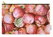 Red Apples With Green Leaf Carry-all Pouch
