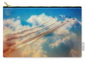 Red Arrows Smoke The Skies Carry-all Pouch