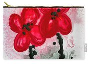 Red Asian Poppies Carry-all Pouch