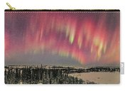 Red Aurora Panorama 1 Feb 12, 2016 Carry-all Pouch