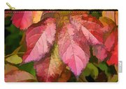 Red Autumn Line Art Carry-all Pouch