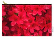 Red Azalias Carry-all Pouch