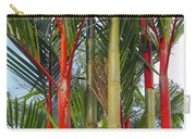 Red Bamboo Carry-all Pouch